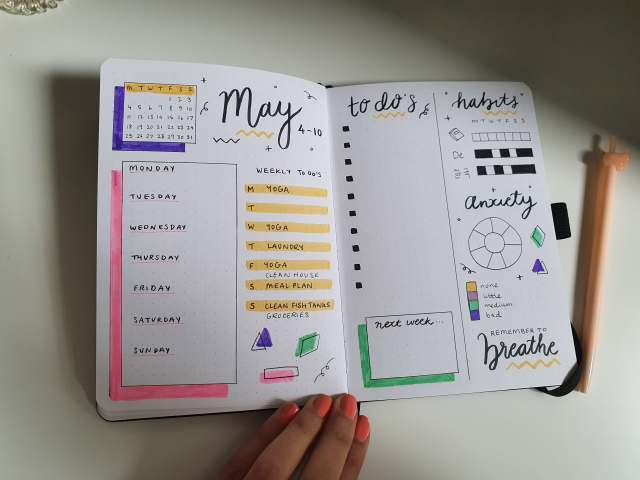 95371695 2619671208270884 1212662090217553920 n 1024x768 - My May Bookish Bullet Journal Snippets + Uni Student Spreads