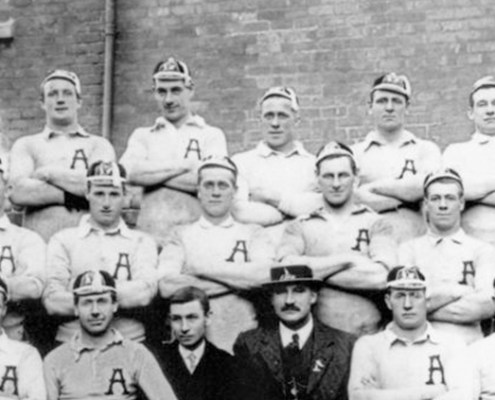 Truii data visualization, analysis and management Australasian Rugby League Team who toured to England in 191112 crop