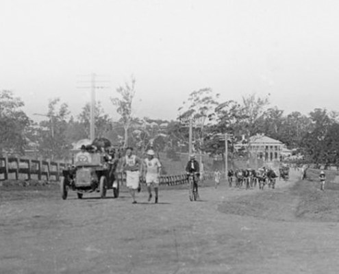 Truii data visualisation, analysis and management Marathon race on Gympie Road Kedron 1908-crop