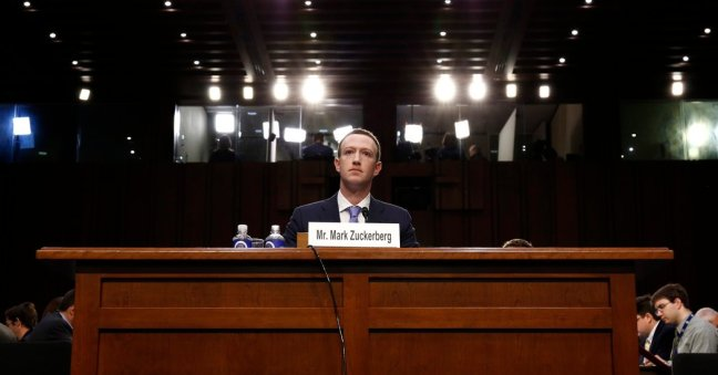 Mark Zuckerberg At Hearings