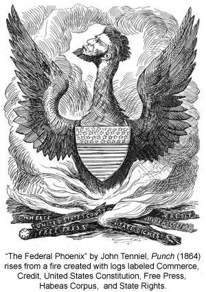 "Abraham Lincoln as the ""Federal Phoenix"""