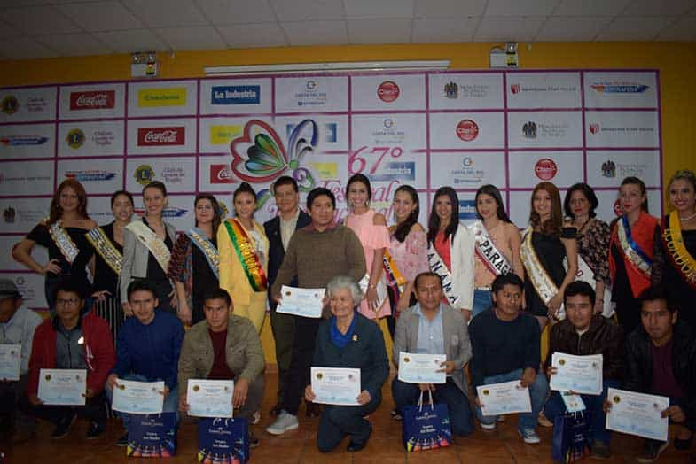Premian a ganadores de los concursos de pintura del 67 ° Festival ...