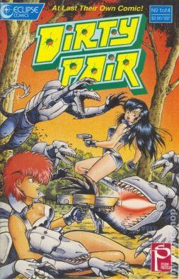 Adam Warren and Torren Smith, the Dirty Pair, 1988, Eclipse Comics