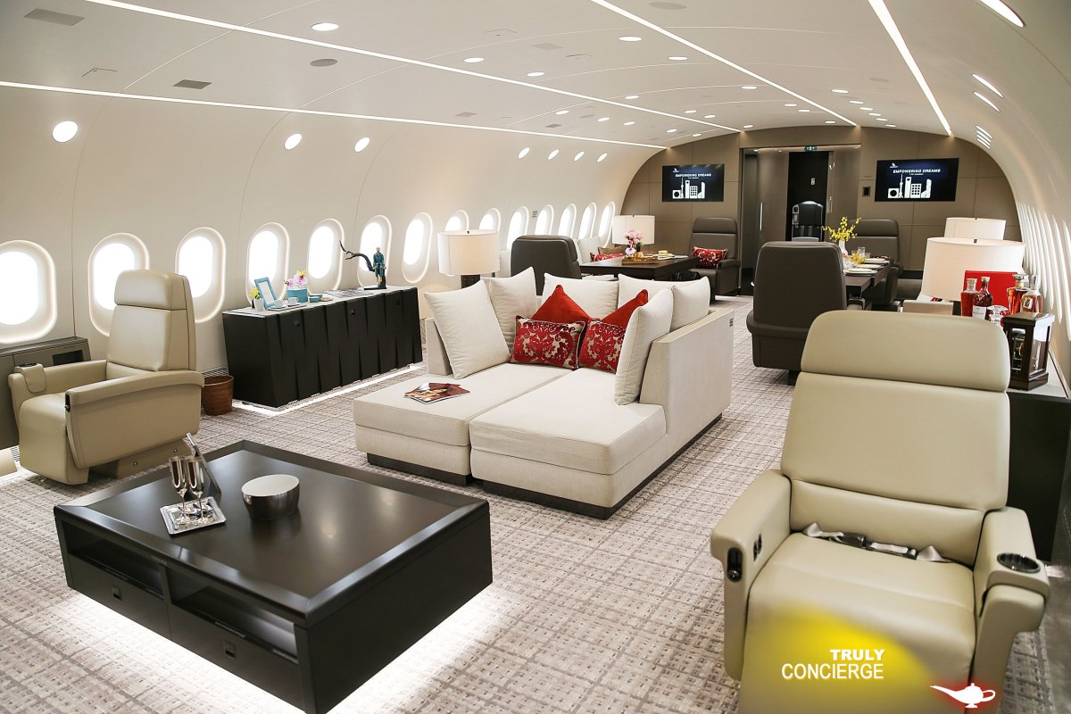 Truly Concierge Luxury Jet Service