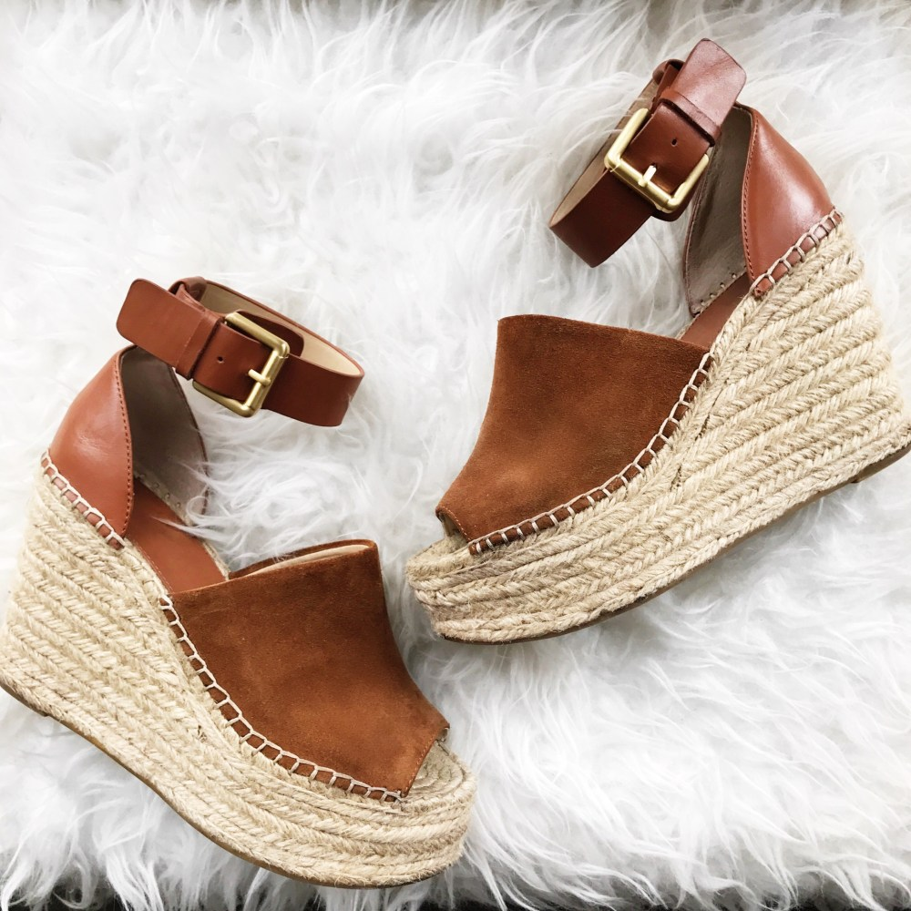 My FAVORITE wedges! These are so comfortable and I could wear them all day!