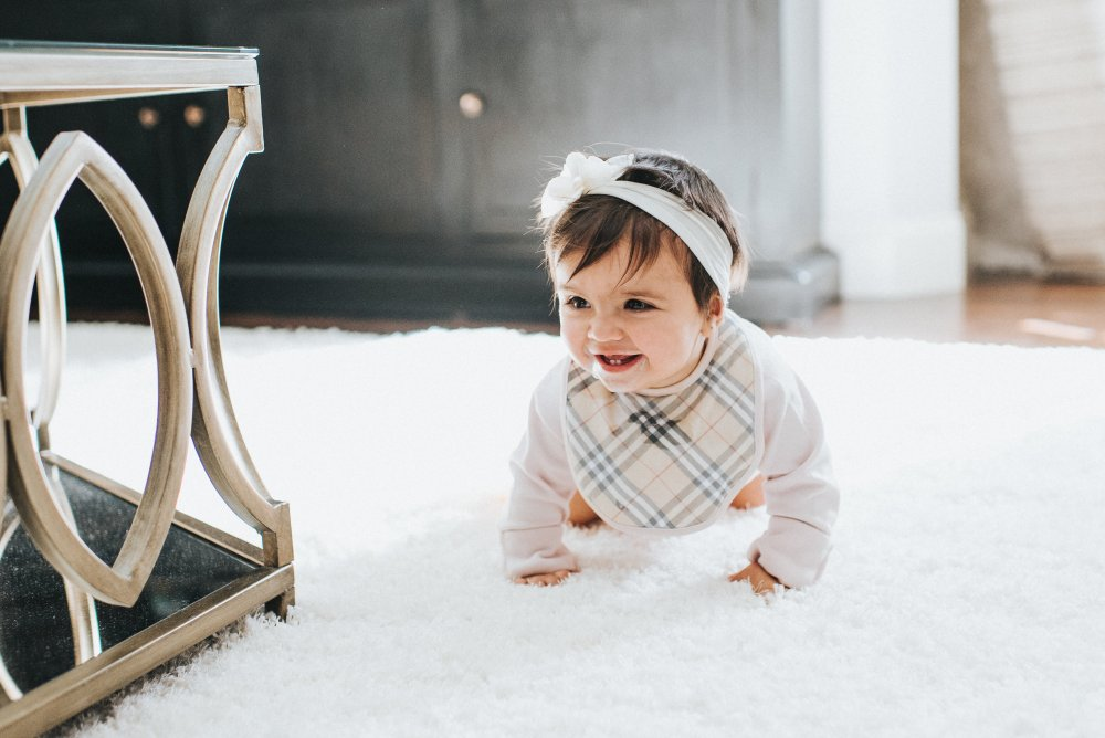 Gift Guide #3: Let's Get Cozy plus the cutest Burberry bib for a baby