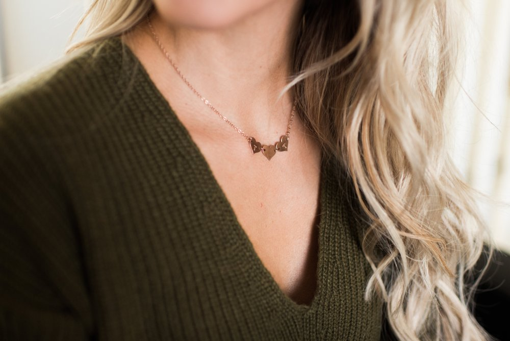 The Destiny necklace from Taudrey! The best place to shop for jewelry that makes the perfect accessory to any outfit!