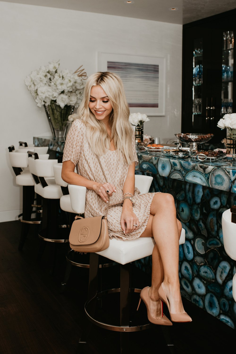 Girls Night In Laguna Outfit Details The perfect sequin dress for a night out!