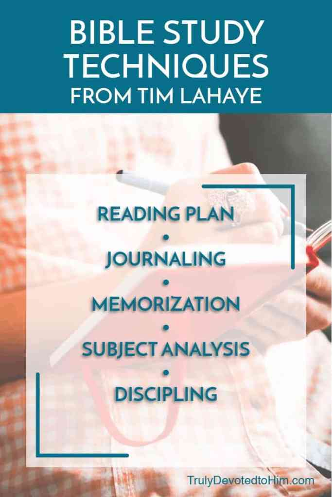 """woman writing in her study journal. a review of Tim LaHaye's book """"How to Study the Bible for Yourself"""" and learning some more Bible study techniques."""