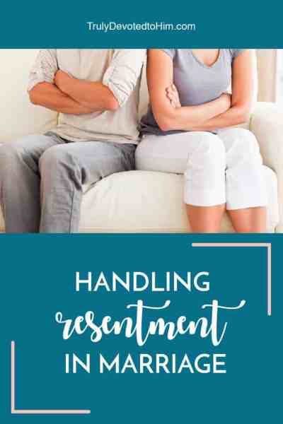 Conflict is healthy for marriage but resentment in marriage can be a silent killer. Practical, heartfelt advice for handling resentment in marriage.