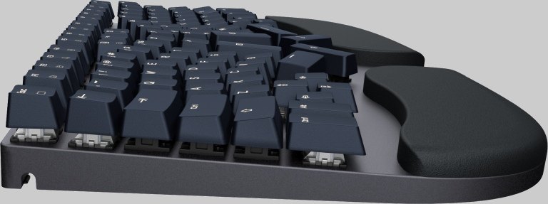 Truly Ergonomic Cleave Floating Keycaps Cleaning Easy