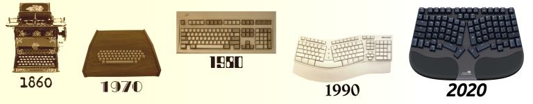 Ergonomic Computer Mechanical Keyboard History