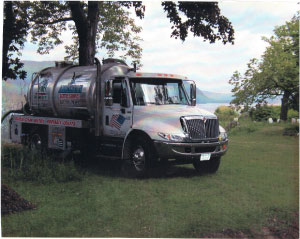 Truly Green Septic Service Pump Truck
