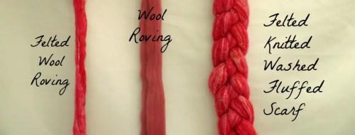 wool roving chart