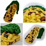 merino wool corn cob throw
