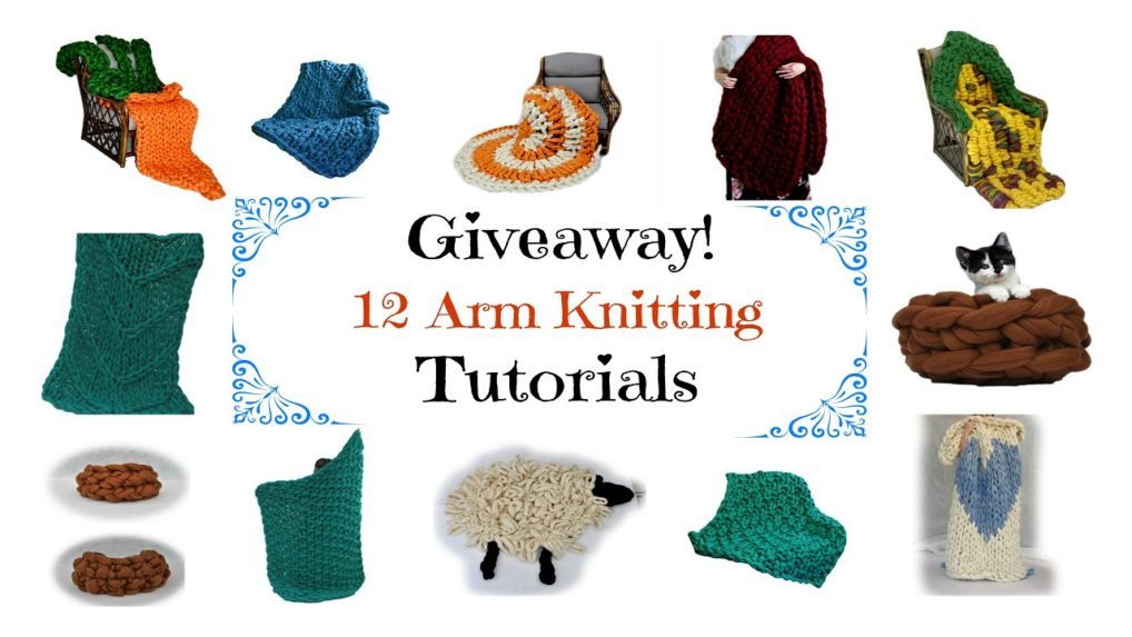 Arm Knitting Step By Step : Arm knitting i pinned this again because want everyone to know