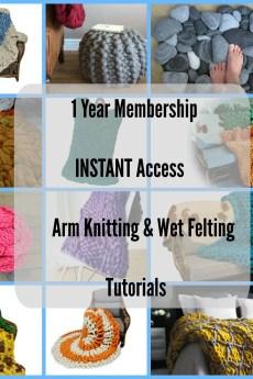 Arm knitting membership