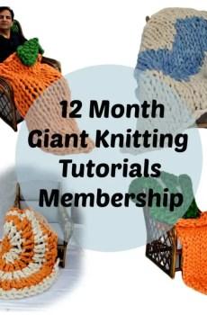 giant knitting tutorials