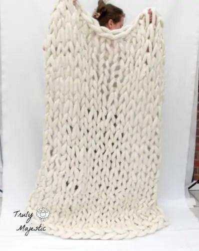 arm knitting truly majestic