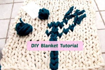diy blanket tutorial