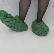 arm knitting, becozi, ohhio, hand knitting