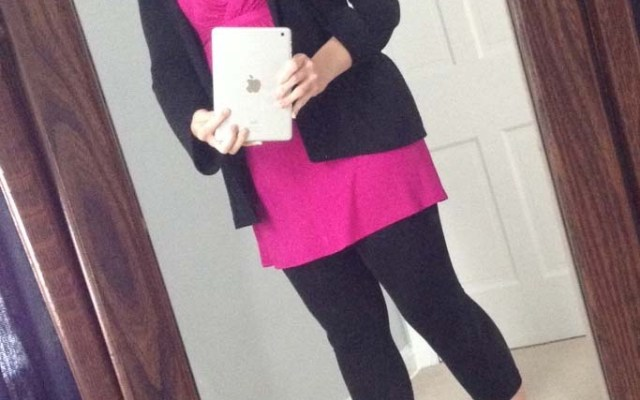 What I Wore In Month Five of Pregnancy