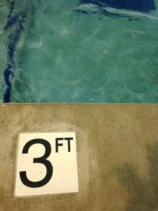 Use the pool during the third trimester