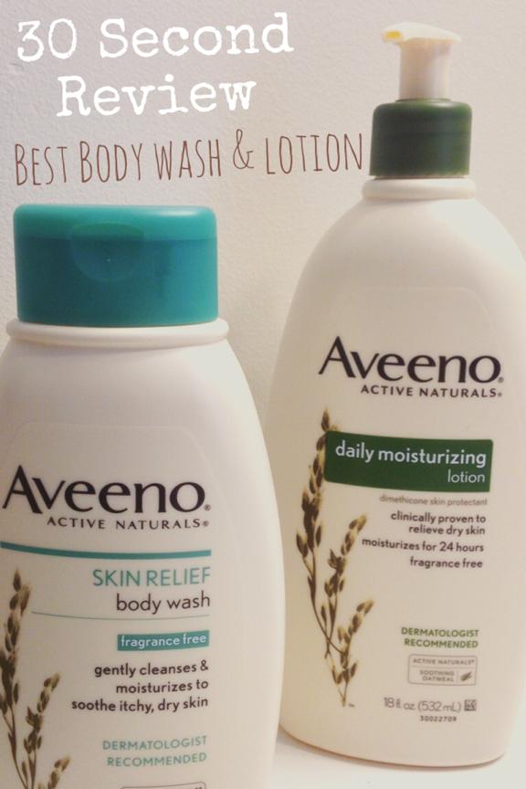 Aveeno Body wash & Lotion Review