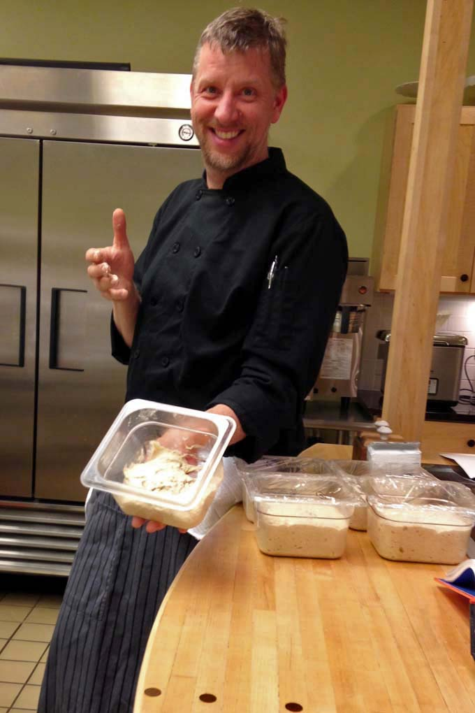 Chef Dave at Braise Cooking School