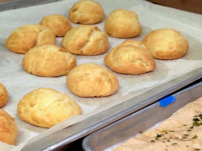 Homemade Brioche Rolls at Braise Cooking School