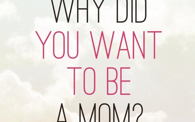 Motherhood: An Act of Sacrifice or Ultimate Selfishness?