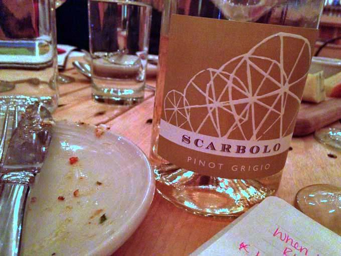 Unique Pinot Grigio We Sampled At Braise's Wine Pairing Night