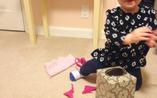 Easy DIY Toy for Six- to Ten-Month Old Baby