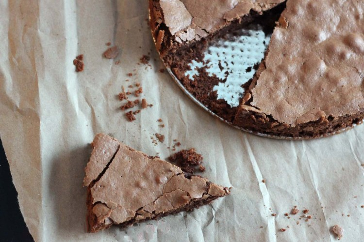 Great British Bake-Off Contestant's Chocolate Cake