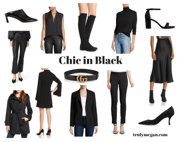 Chic In Black: My Favorite Black Closet Staples