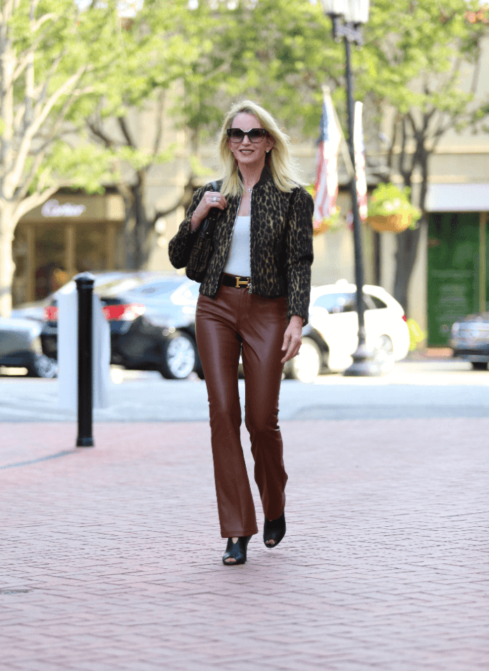 My Favorite Faux Leather Pants + Shop These Top Selling Booties On Sale for $59!