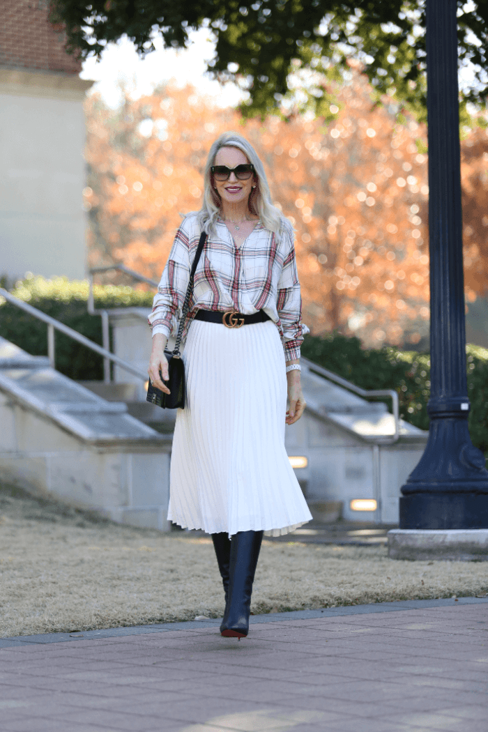 Holiday Style | One $28 Skirt Worn Two Ways