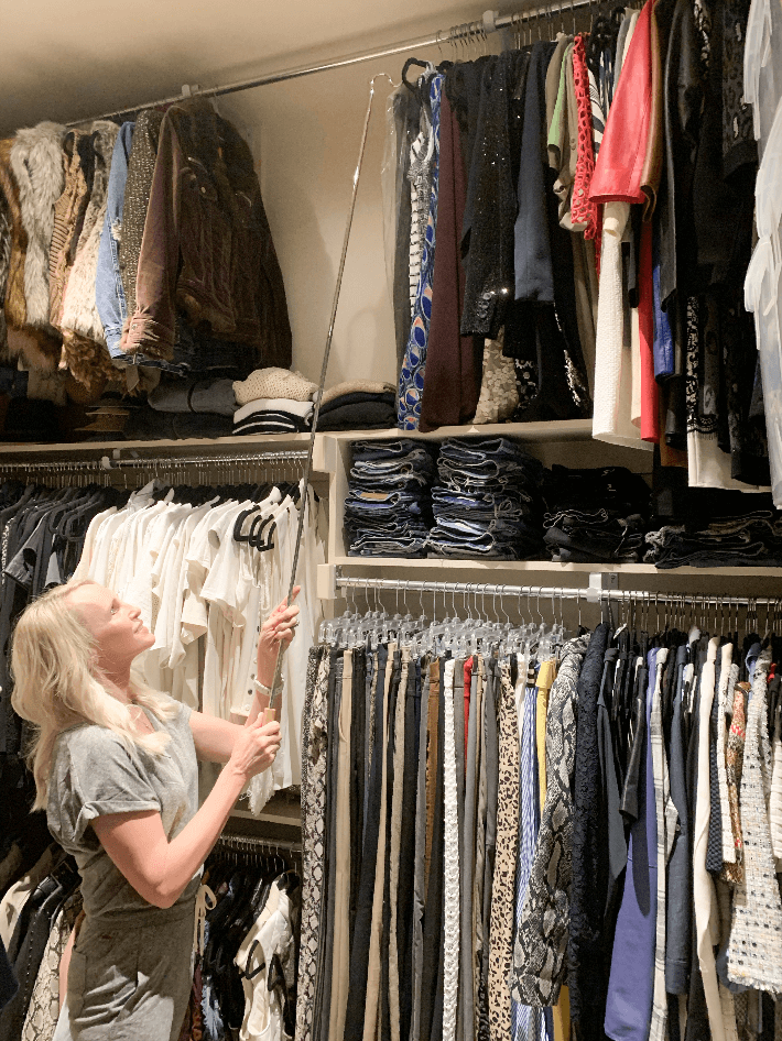 Truly Megan Blog Tips and Ideas for Closet Organizing.