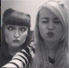 me & rosy sillyfaces