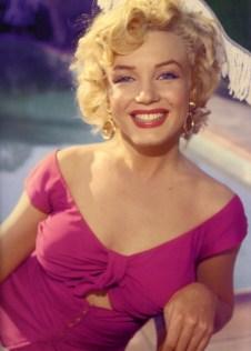 marilyn pink dress