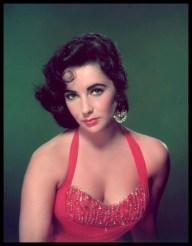 elizabeth-taylor-1950s-red-dress-color