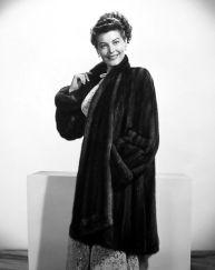 black fur coat ava