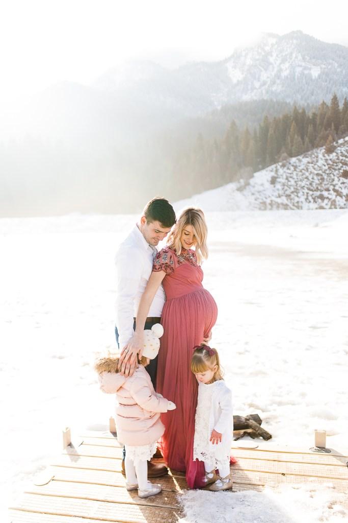 Whitney Fox   Utah Maternity Photographer   Tibble Fork