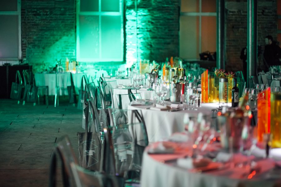 Colourful Set Up Hepworth Wakefield Truly Quirky Wedding Venues