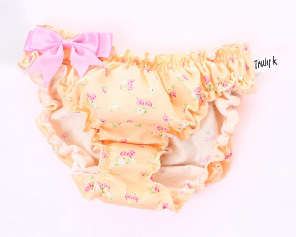 Brushed cotton- baby blossoms knicker
