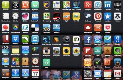 Mina iPhone-appar