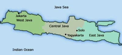 > The Island of Java | TrulyTravelIndonesia.Com