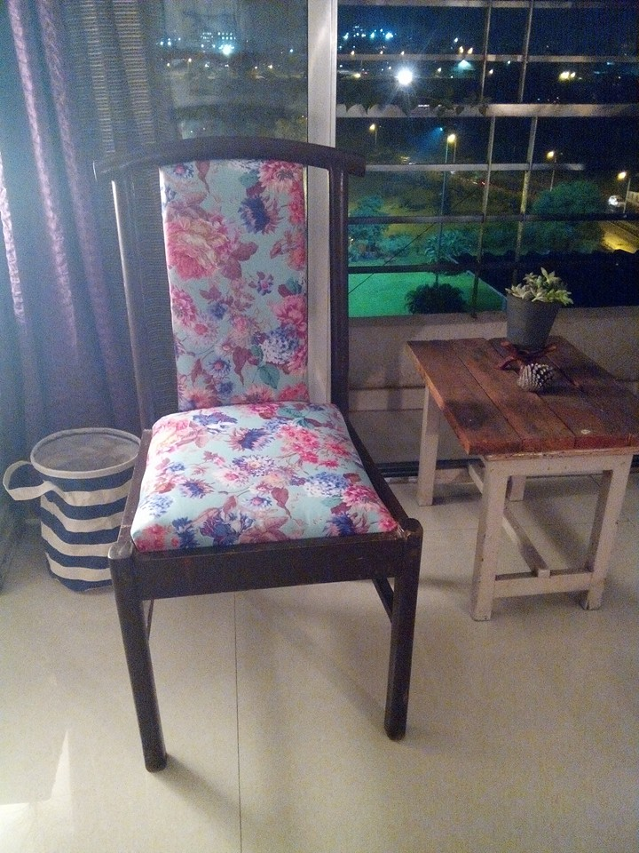 Chair_with fabric