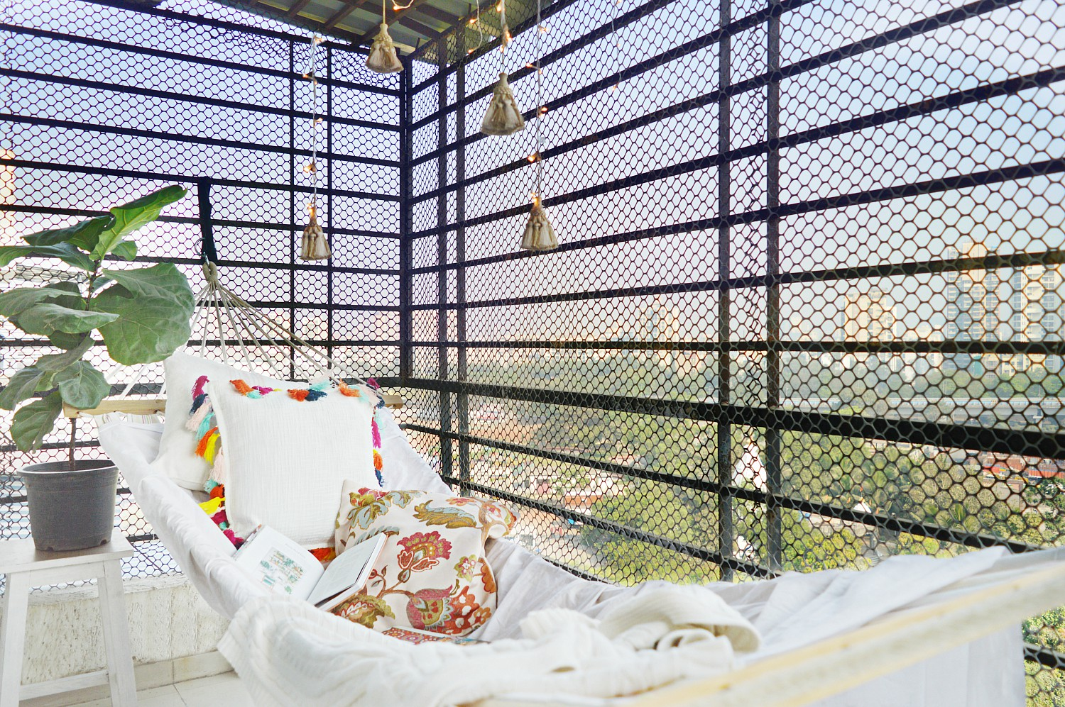 Apartment Balcony Decorating Ideas That Roughly Costs About 7000 Rupees