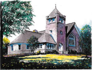 church-drawing